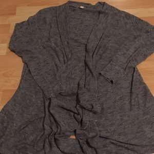 Drapey Grey cardigan